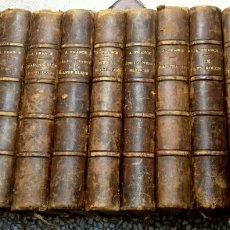 Libros antiguos: CA 1900 - 11 VOLUMES - ANATOLE FRANCE - CALMANN LEVY PARIS. Lote 143704688