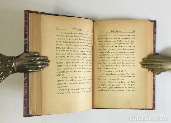 Libros antiguos: FEMENINAS. (Seis historias amorosas).- VALLE-INCLÁN, Ramón del. PRIMERA EDICIÓN. - Foto 5 - 143708070