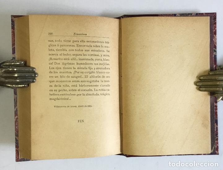 Libros antiguos: FEMENINAS. (Seis historias amorosas).- VALLE-INCLÁN, Ramón del. PRIMERA EDICIÓN. - Foto 7 - 143708070