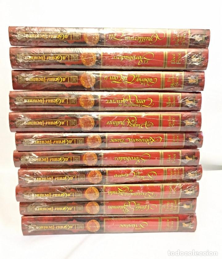 Libros antiguos: Coleccion de 11 Libros de La gran aventura Nuevos Emblistados,titulos surtidos. - Foto 2 - 143752954