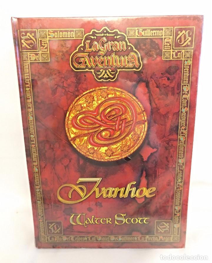 Libros antiguos: Coleccion de 11 Libros de La gran aventura Nuevos Emblistados,titulos surtidos. - Foto 7 - 143752954