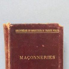 Libros antiguos: 1897.- MAÇONNERIES. EDUARD SIMONET. Lote 143839550