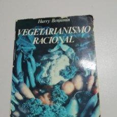 Libros antiguos: VEGETARIANISMO RACIONAL. Lote 143840650