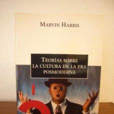 Libri antichi: MARVIN HARRIS: TEORÍAS SOBRE LA CULTURA EN LA ERA POSMODERNA (CRÍTICA, 2000) RARO. Lote 218082503