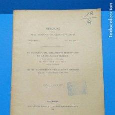 Libros antiguos: EL PROBLEMA DEL AISLAMIENTO FERROVIARIO DE LA PENÍNSULA IBÉRICA.-B.PUIG Y BUSCO. Lote 143961302