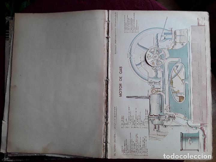 Libros antiguos: EL MUNDO CIENTIFICO INVENTOS MODERNOS, 9 TOMOS - Foto 3 - 143999514