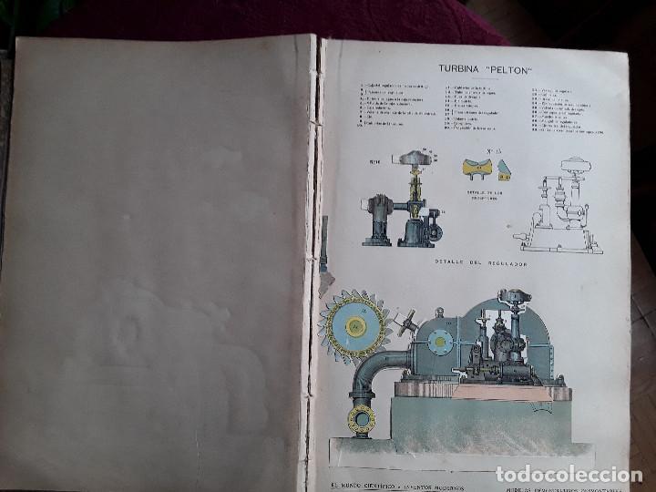 Libros antiguos: EL MUNDO CIENTIFICO INVENTOS MODERNOS, 9 TOMOS - Foto 4 - 143999514
