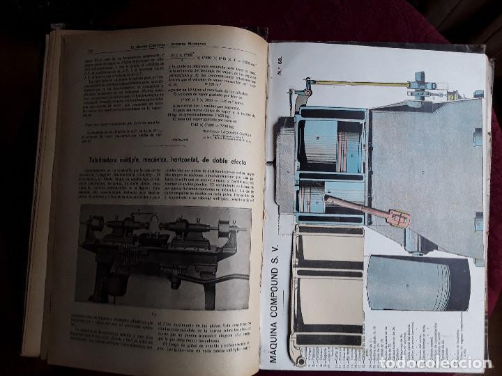 Libros antiguos: EL MUNDO CIENTIFICO INVENTOS MODERNOS, 9 TOMOS - Foto 7 - 143999514