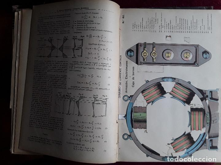 Libros antiguos: EL MUNDO CIENTIFICO INVENTOS MODERNOS, 9 TOMOS - Foto 8 - 143999514
