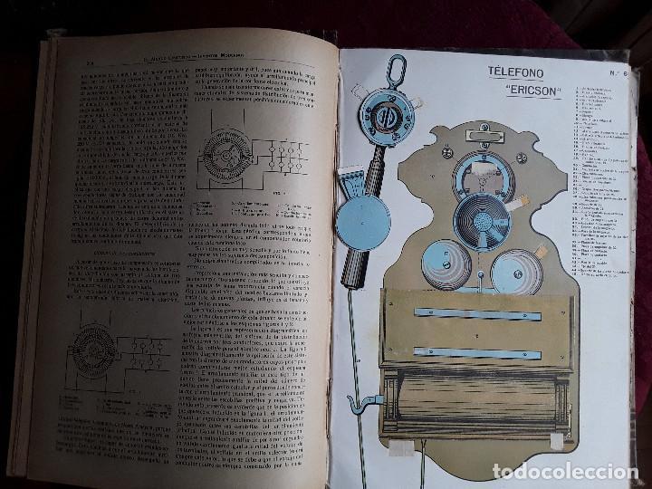 Libros antiguos: EL MUNDO CIENTIFICO INVENTOS MODERNOS, 9 TOMOS - Foto 11 - 143999514