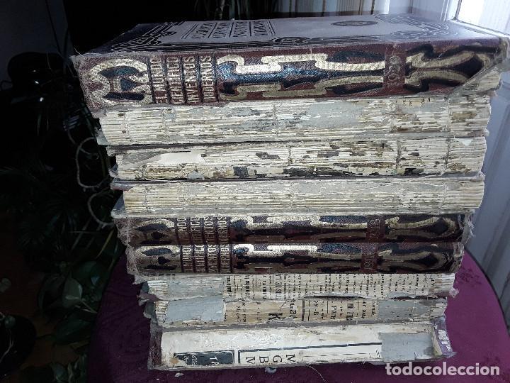 Libros antiguos: EL MUNDO CIENTIFICO INVENTOS MODERNOS, 9 TOMOS - Foto 12 - 143999514