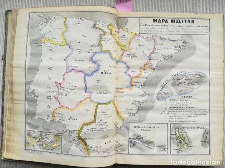 Libros antiguos: CARTOGRAFIA HISPAÑO CIENTIFICA - 13 MAPAS - F.J. TORRES - TOMO 2 - AÑO 1857 - Foto 3 - 144017522