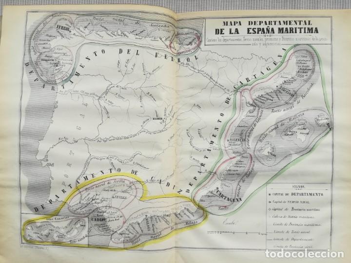 Libros antiguos: CARTOGRAFIA HISPAÑO CIENTIFICA - 13 MAPAS - F.J. TORRES - TOMO 2 - AÑO 1857 - Foto 4 - 144017522