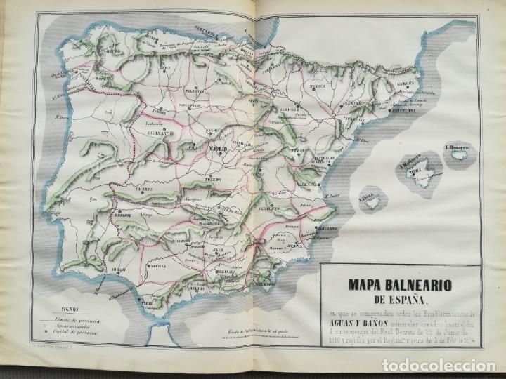Libros antiguos: CARTOGRAFIA HISPAÑO CIENTIFICA - 13 MAPAS - F.J. TORRES - TOMO 2 - AÑO 1857 - Foto 6 - 144017522