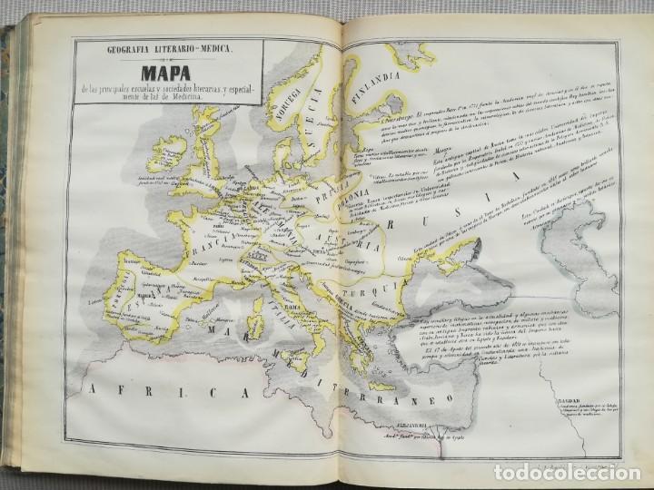 Libros antiguos: CARTOGRAFIA HISPAÑO CIENTIFICA - 13 MAPAS - F.J. TORRES - TOMO 2 - AÑO 1857 - Foto 8 - 144017522