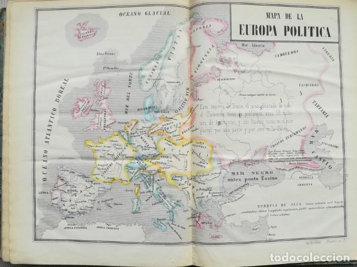 Libros antiguos: CARTOGRAFIA HISPAÑO CIENTIFICA - 13 MAPAS - F.J. TORRES - TOMO 2 - AÑO 1857 - Foto 9 - 144017522