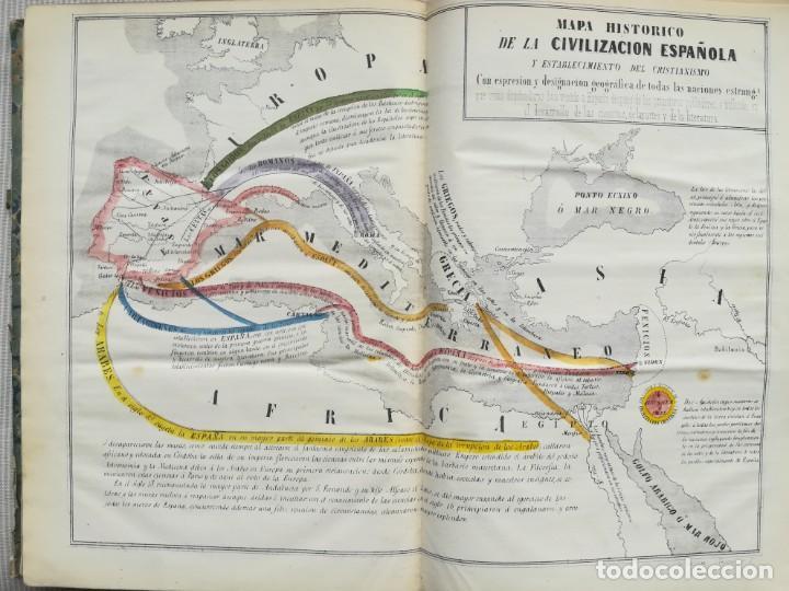 Libros antiguos: CARTOGRAFIA HISPAÑO CIENTIFICA - 13 MAPAS - F.J. TORRES - TOMO 2 - AÑO 1857 - Foto 10 - 144017522