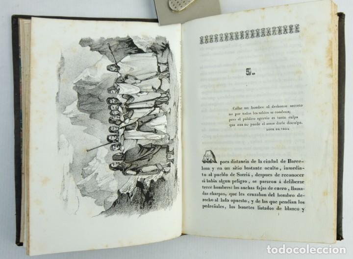 Libros antiguos: El conde de Santa Coloma o la revolución de Barcelona-D.J Garcia de Torres-1842. Tomo 2 - Foto 9 - 144029050