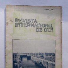 Libros antiguos: REVISTA INTERNACIONAL DE DUN FEBRERO 1914 . Lote 144061070