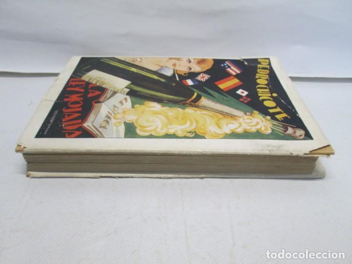 Libros antiguos: LA LEY MOJADA. PEDRO CHICOTE. DEDICADO POR EL AUTOR. 1930. SUCESORES DE RIVADENEYRA S.A. - Foto 4 - 144158278