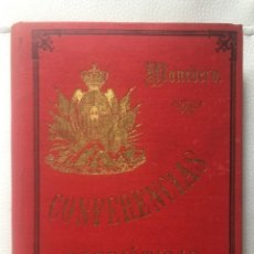 Libros antiguos: MONEDERO ORDOÑEZ, DIONISIO , CONFERENCIAS PATRIÓTICAS POR… (1901). Lote 144163222