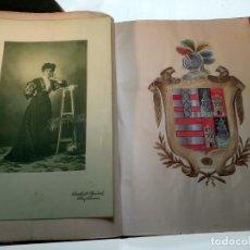 Old books: BELLA EXECUTORIA DE HIDALGUIA DE LOS XIMENEZ Y NAVARROS - MANUSCRITO ORIGINAL - COPIA DE DOCUMENTOS. Lote 144474478