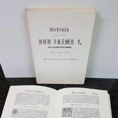 Libros antiguos: LOTE DE 2 TOMOS DE CRÓNICAS DEL REY JAIME I EL CONQUISTADOR. Lote 144499878