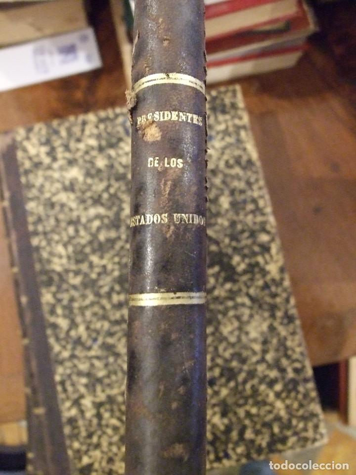 Libros antiguos: LOS PRESIDENTES DE LOS ESTADOS UNIDOS - VERNEUILL - MONTANER Y SIMON 1885 BARCELONA ILUSTRADA - Foto 3 - 144558522