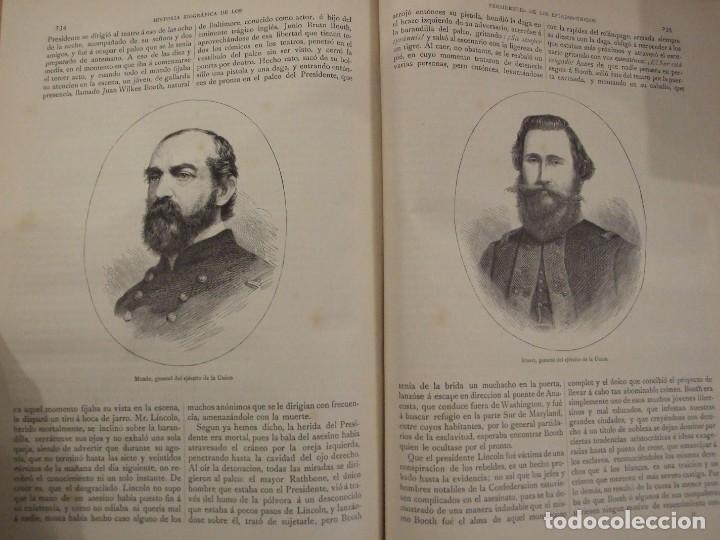 Libros antiguos: LOS PRESIDENTES DE LOS ESTADOS UNIDOS - VERNEUILL - MONTANER Y SIMON 1885 BARCELONA ILUSTRADA - Foto 5 - 144558522