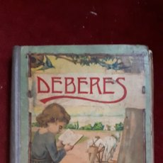 Libros antiguos: DEBERES J. RENART 1935 DALMAU CARLES, PLA.. Lote 144563754