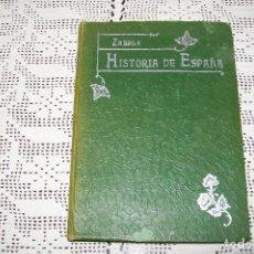 Libros antiguos: COMPENDIO DE HISTORIA DE ESPAÑA POR MANUEL ZABALA URDANIZ MADRID IMPRENTA DE J. GÓNGORA ÁLVAREZ 1907. Lote 144573002