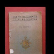 Libros antiguos: AGUAS ISOTÓNICAS DE VALLFOGONA. AGUAS MINERO-MEDICINALES ISOTÓNICAS DE VALLFOGONA DE RIUCORP. Lote 144623510
