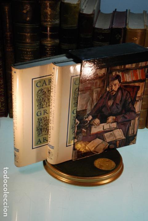 CARTAS DE GRANDES ARTISTAS - RICHARD FRIEDENTHAL - DOS TOMOS - EDICIONES NAUTA - BCN - 1967 - (Libros Antiguos, Raros y Curiosos - Bellas artes, ocio y coleccionismo - Otros)