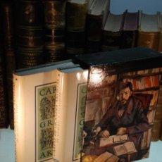 Libri antichi: CARTAS DE GRANDES ARTISTAS - RICHARD FRIEDENTHAL - DOS TOMOS - EDICIONES NAUTA - BCN - 1967 -. Lote 144627678