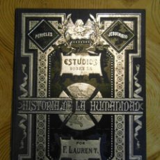 Libros antiguos: ESTUDIOS SOBRE LA HISTORIA DE LA HUMANIDAD. F. LAURENT. TOMO XIV. LA REVOLUCION FRANCESA 2ª PARTE. Lote 144643166