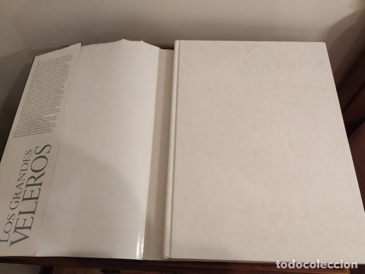 Libros antiguos: LOS GRANDES VELEROS - HISTORIA Y EVOLUCIÓN DE LA NAVEGACIÓN A VELA DESDE SUS ORÍGINES HASTA .. - Foto 3 - 144671162
