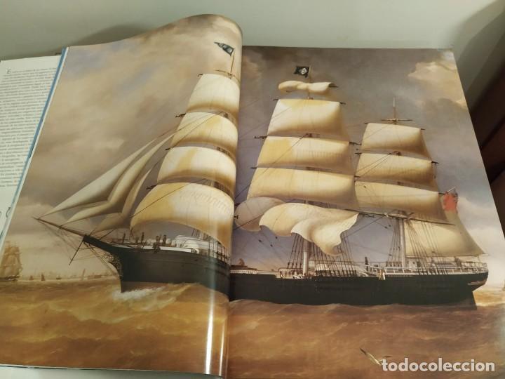 Libros antiguos: LOS GRANDES VELEROS - HISTORIA Y EVOLUCIÓN DE LA NAVEGACIÓN A VELA DESDE SUS ORÍGINES HASTA .. - Foto 5 - 144671162