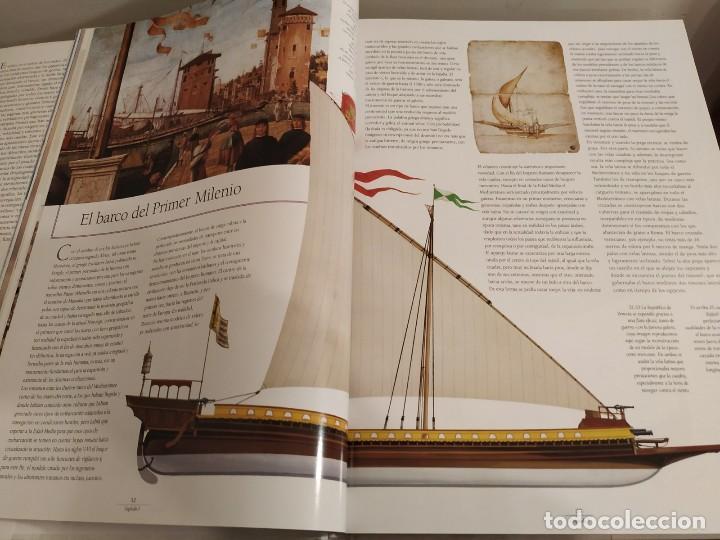 Libros antiguos: LOS GRANDES VELEROS - HISTORIA Y EVOLUCIÓN DE LA NAVEGACIÓN A VELA DESDE SUS ORÍGINES HASTA .. - Foto 6 - 144671162