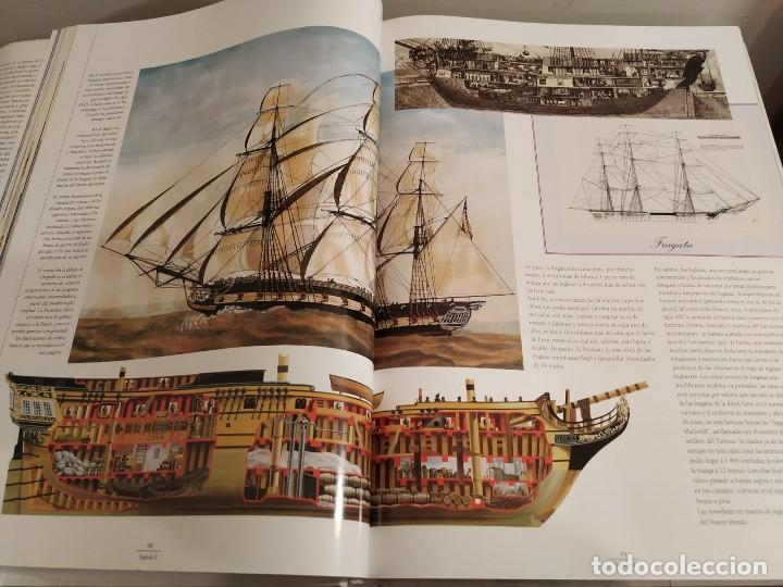 Libros antiguos: LOS GRANDES VELEROS - HISTORIA Y EVOLUCIÓN DE LA NAVEGACIÓN A VELA DESDE SUS ORÍGINES HASTA .. - Foto 9 - 144671162