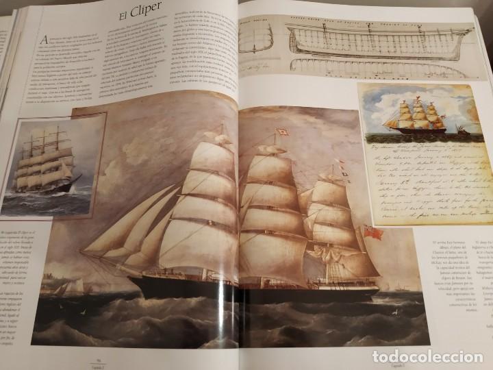 Libros antiguos: LOS GRANDES VELEROS - HISTORIA Y EVOLUCIÓN DE LA NAVEGACIÓN A VELA DESDE SUS ORÍGINES HASTA .. - Foto 10 - 144671162