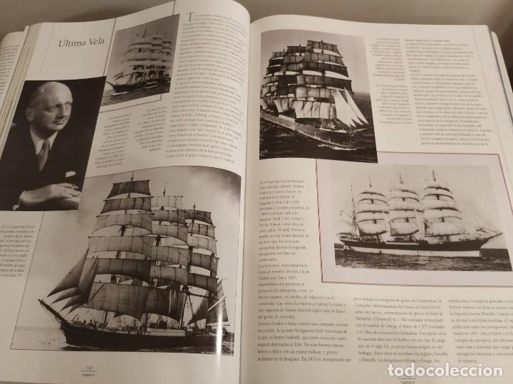 Libros antiguos: LOS GRANDES VELEROS - HISTORIA Y EVOLUCIÓN DE LA NAVEGACIÓN A VELA DESDE SUS ORÍGINES HASTA .. - Foto 11 - 144671162