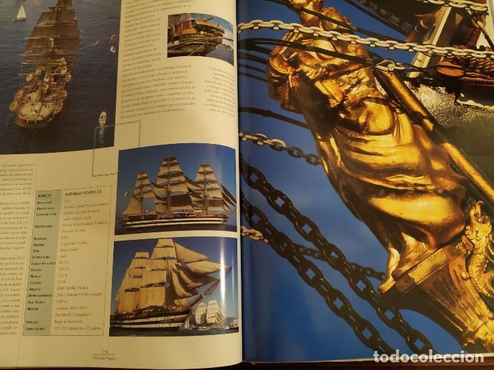 Libros antiguos: LOS GRANDES VELEROS - HISTORIA Y EVOLUCIÓN DE LA NAVEGACIÓN A VELA DESDE SUS ORÍGINES HASTA .. - Foto 13 - 144671162