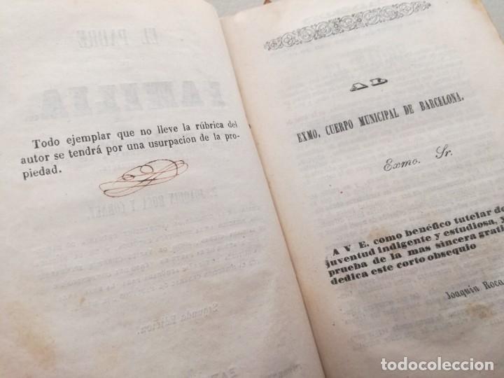 Libros antiguos: EL PADRE DE FAMILIA (1846) - JOAQUIN ROCA Y CORNET - Foto 6 - 144728534
