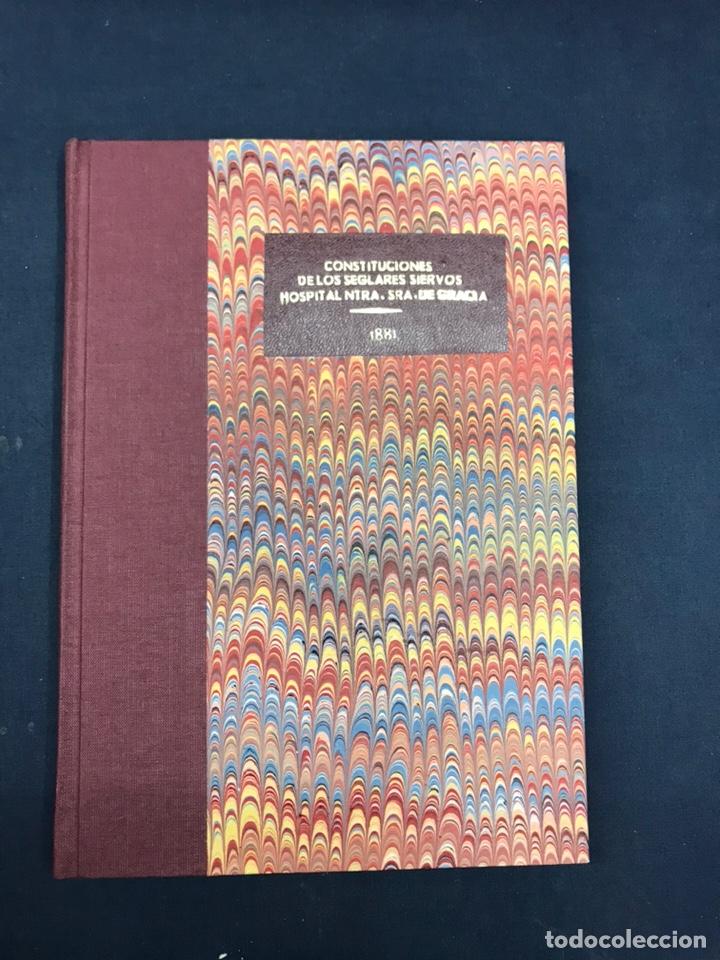 Libros antiguos: ZARAGOZA. HERMANDAD DE LA SOPA. 1881. CONSTITUCIONES CONGREGACION SANTO HOSPITAL N. S. DE GRACIA. - Foto 2 - 144873938