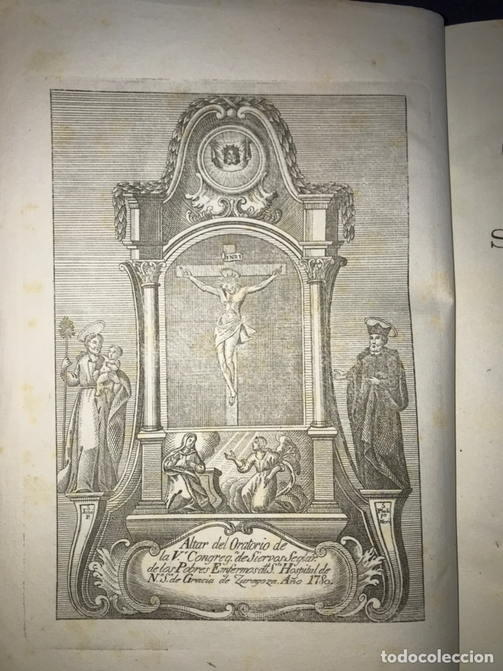 ZARAGOZA. HERMANDAD DE LA SOPA. 1881. CONSTITUCIONES CONGREGACION SANTO HOSPITAL N. S. DE GRACIA. (Libros Antiguos, Raros y Curiosos - Historia - Otros)