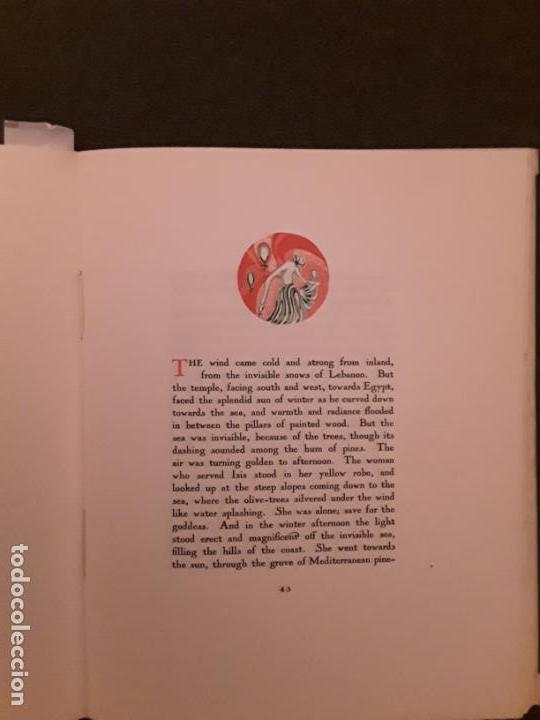 Libros antiguos: Lawrence D.H. The escaped Cock. The black sun press - Foto 5 - 144879074
