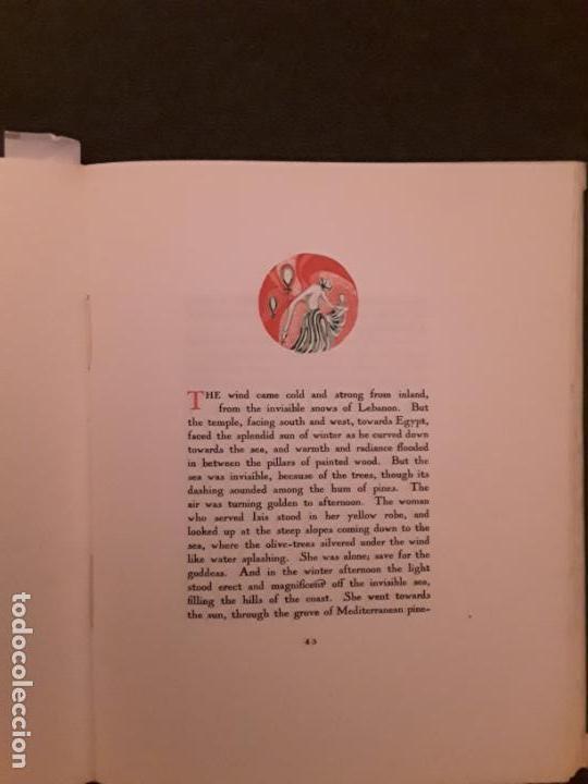 Libros antiguos: Lawrence D.H. The escaped Cock. The black sun press - Foto 7 - 144879074