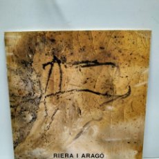 Libros antiguos: LIBRO - RIERA I ARAGO / N-7620. Lote 144926014