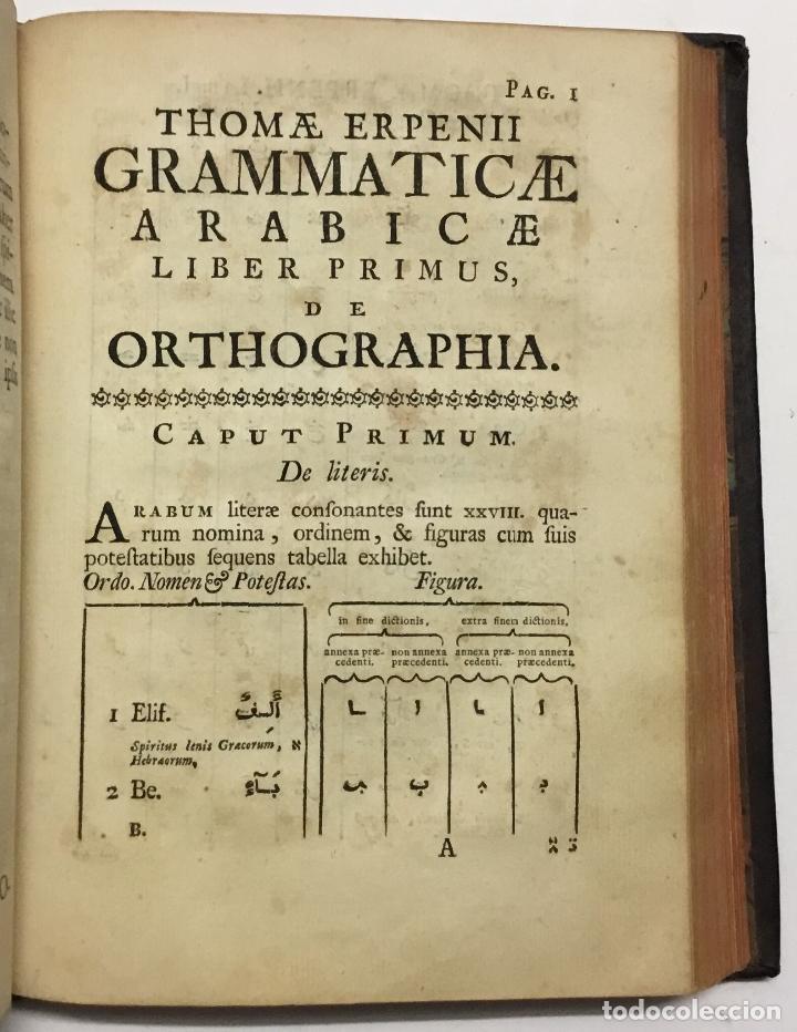 Libros antiguos: GRAMMATICA ARABICA cum fabulis Locmanni, etc.; accedunt excerpta anthologiae veterum Arabiae poetaru - Foto 4 - 142425469