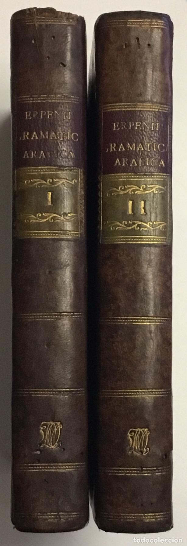 Libros antiguos: GRAMMATICA ARABICA cum fabulis Locmanni, etc.; accedunt excerpta anthologiae veterum Arabiae poetaru - Foto 2 - 142425469